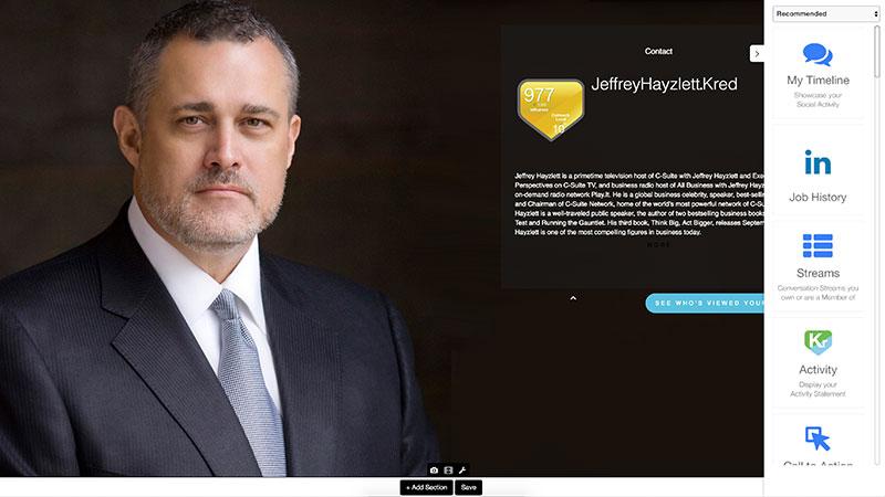 Influencer Profile