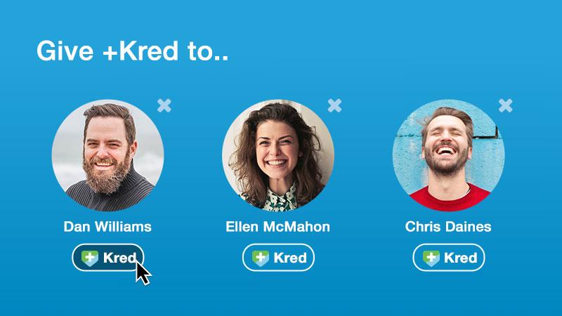 Give +Kred